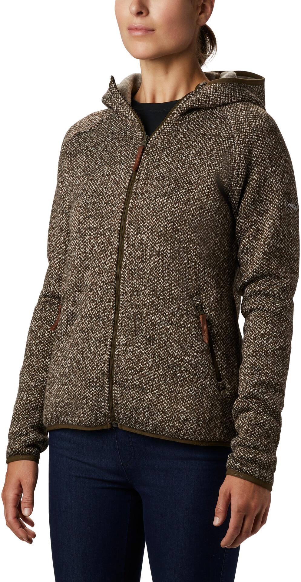 Columbia Chillin Full Zip Fleece Jacket Damen olive green
